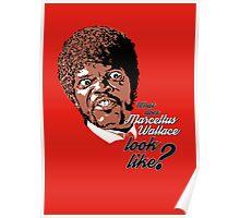 Jules Winnfield - Pulp Fiction Poster
