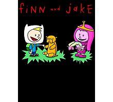Finn And Jake Calvin Hobbes Photographic Print