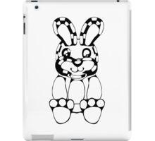 funny rabbit silhouette drawing iPad Case/Skin