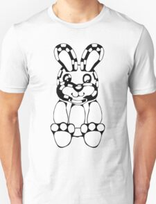 funny rabbit silhouette drawing T-Shirt