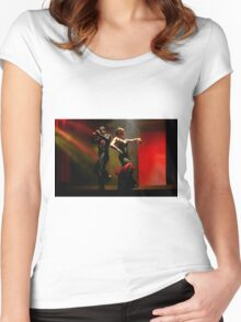 Sensual Flamenco  Women's Fitted Scoop T-Shirt