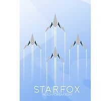 Ready for Takeoff - Starfox Photographic Print