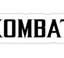 Mortal Kombat - KOMBAT X Sticker