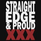 Edge and Proud (for dark shirts) by KillbotClothing