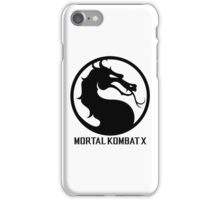 Mortal Kombat X LOGO iPhone Case/Skin