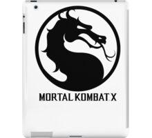 Mortal Kombat X LOGO iPad Case/Skin