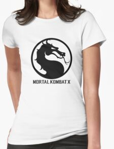 Mortal Kombat X LOGO Womens Fitted T-Shirt