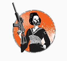 Geisha and Machine Gun Unisex T-Shirt