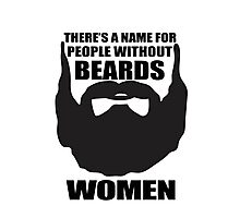 beards Photographic Print