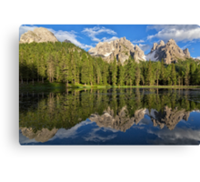 Lake Antorno Canvas Print