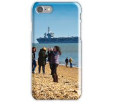 Welcome USS Theodore Roosevelt  iPhone Case/Skin