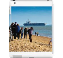 Welcome USS Theodore Roosevelt  iPad Case/Skin