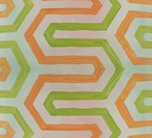 Peach of a Pattern by TheFancyReal