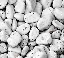 White stones with black spots by GemaIbarra