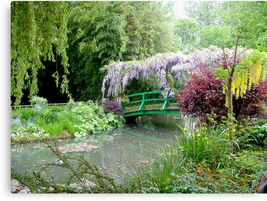 Monet's Bridge by triciamary