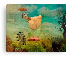 feline dream Canvas Print