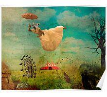 feline dream Poster