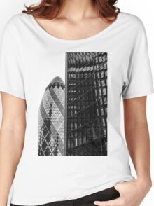 Gherkin Architecture Women's Relaxed Fit T-Shirt