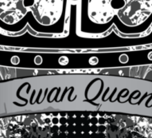 Once Upon a Time - Swan Queen Sticker
