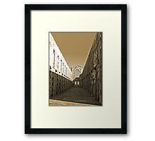 Trial Bay Gaol Cells Framed Print