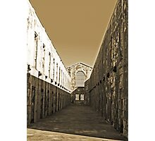 Trial Bay Gaol Cells Photographic Print