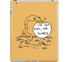 Snakes Aren't Evil iPad Case/Skin