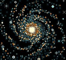 Messier 101 (8bit) by sp8cebit