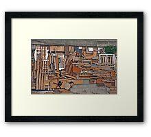 Seine Potpourri Framed Print
