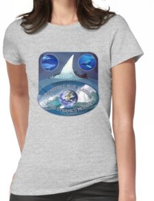 earth first Womens Fitted T-Shirt
