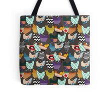 Cincinnati Chickens Tote Bag