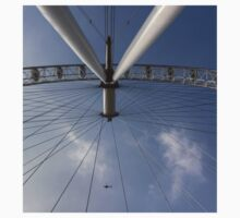 The London Eye And Apache Helicopter Kids Tee