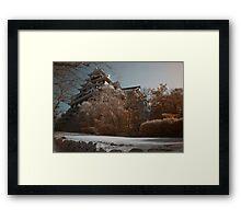 Okayama Castle Framed Print