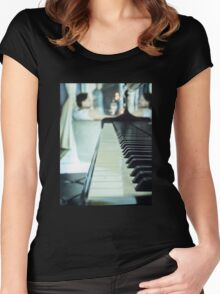 Piano Party Women's Fitted Scoop T-Shirt
