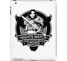 NightsWatch Crows iPad Case/Skin