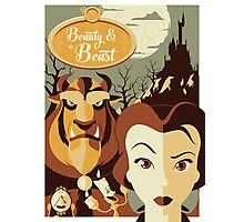 Beauty and the Beast Photographic Print