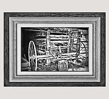 """'Back to the Dump Rake, Boys'"" ... with a matted and framed presentation for prints and products by © Bob Hall"