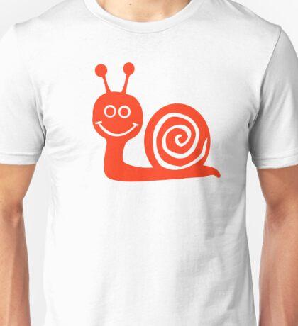 Snail face Unisex T-Shirt