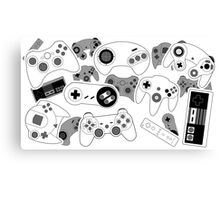 Controllers! Canvas Print