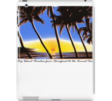 hawaii iPad Case/Skin