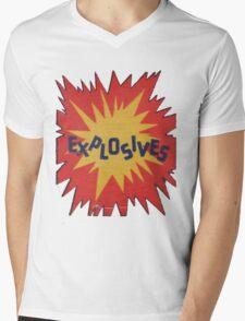 Explosive! Mens V-Neck T-Shirt