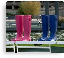 Bet Your Boots! Canvas Print