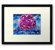Quenched.  Framed Print
