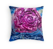 Quenched.  Throw Pillow