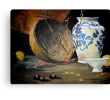 Ode to an Urn Canvas Print