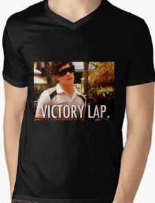 Victory Lap Mens V-Neck T-Shirt