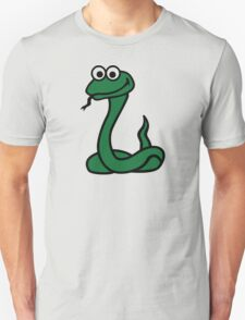 Green comic snake T-Shirt