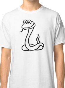 Comic snake Classic T-Shirt