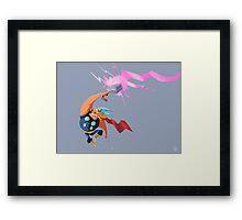 Thorpic Thunder Framed Print