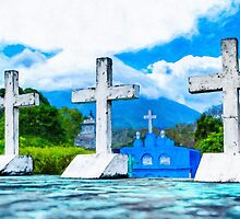 Crosses of Altagracia - Nicaragua by Mark Tisdale