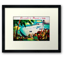 Overnight on the Clipper Framed Print